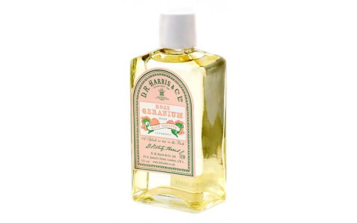 D.R. Harris Silky Bath Essence - Rose Geranium 100 ml