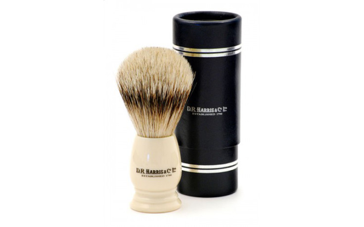 D.R. Harris Shaving Brushes Best Badger - S1 Ivory