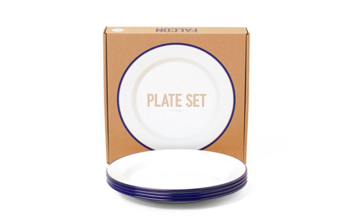 Falcon Plate set blue