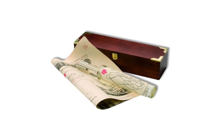 Farina 1709 Original Eau de Cologne 100 ml Rosoli flacon in a wooden box
