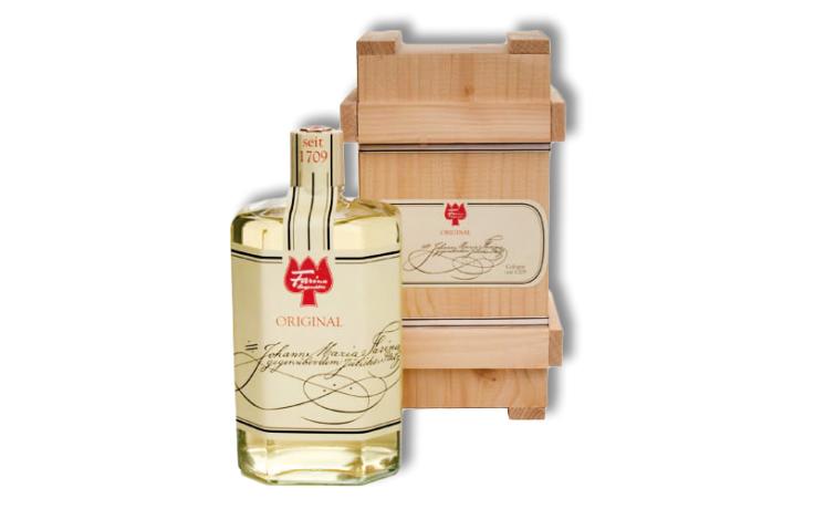 Farina 1709 Original Eau de Cologne in a wooden box 250 ml