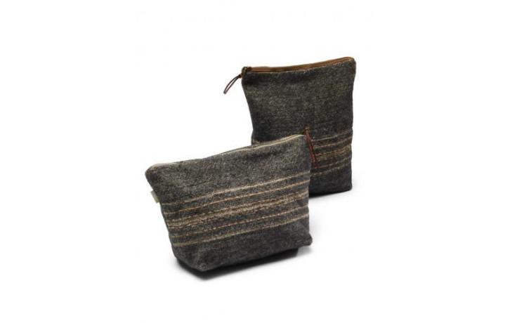 Libeco Cassablanca stripe Cosmetics bag 23 x 28 cm