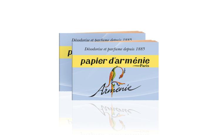 Papier d'Arménie booklet Arménie