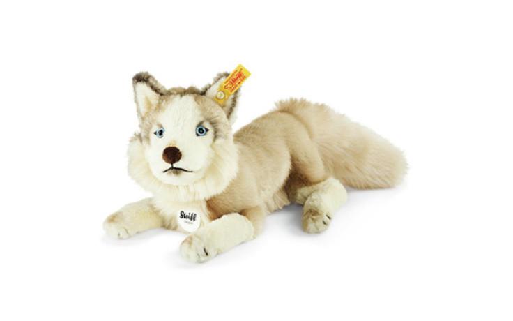 Steiff Dui husky, beige cream 27 cm