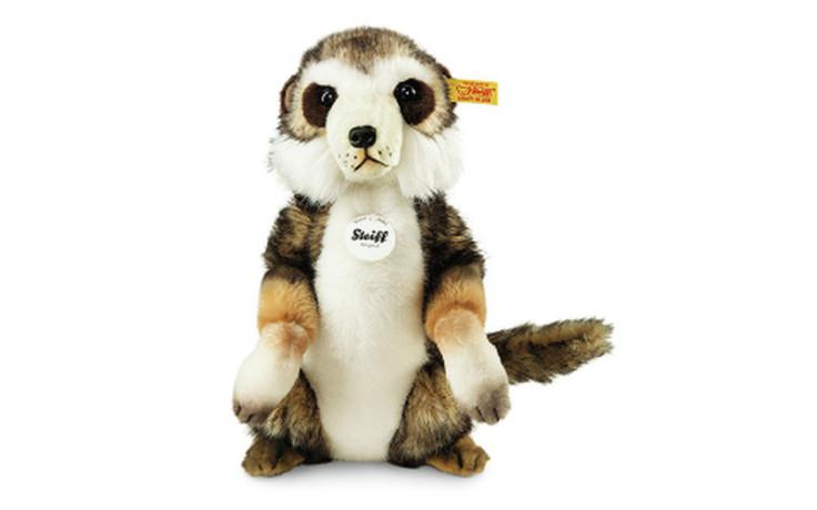 Steiff Sancho meerkat, brown tipped 29 cm