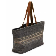 Libeco Cassablanca stripe shoulder bag 35 x 46 x 15 cm