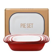 Falcon Pie Set red