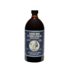 Marius Fabre Liquid olive oil black soap 1 L