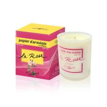 Papier d'Arménie scented candle Rose