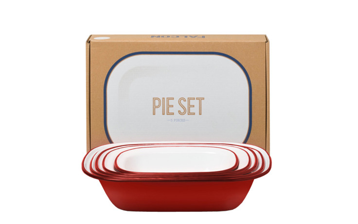 Falcon Pie Set rouge