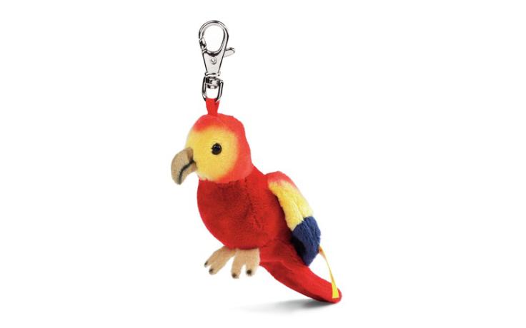 Steiff Coco le perroquet porte clé 12 cm