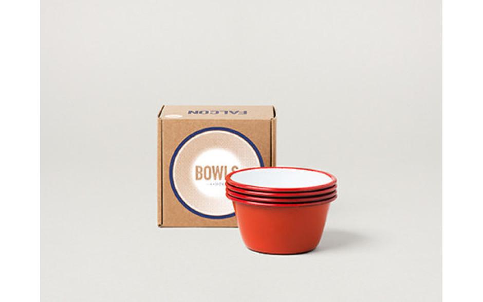 Falcon Bowls set rouge