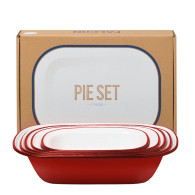 Falcon Pie Set rouge