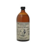 Marius Fabre Savon liquide de Marseille, Zestes d'oranges 1 L