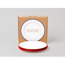 Falcon Plate set rouge