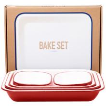 Falcon Bake Set rouge