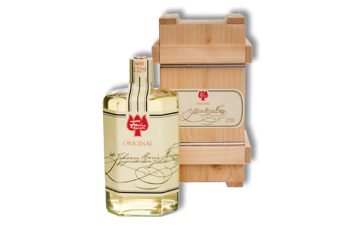 Farina 1709 Original Eau de Cologne in a wooden box 250 ml