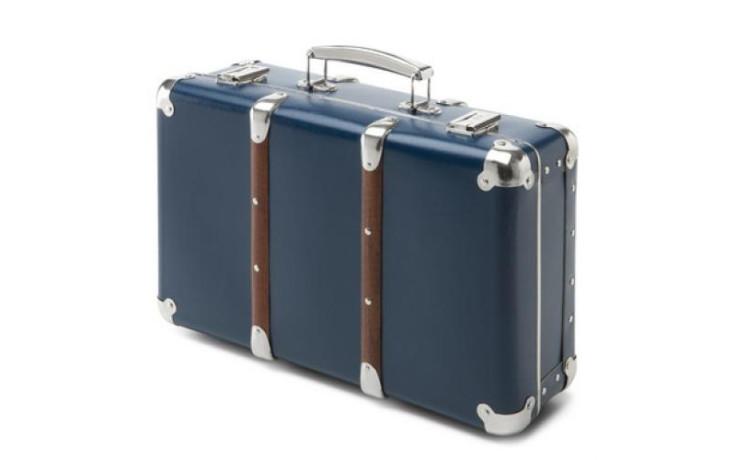Kazeto Cardboard suitcase blue 40 cm