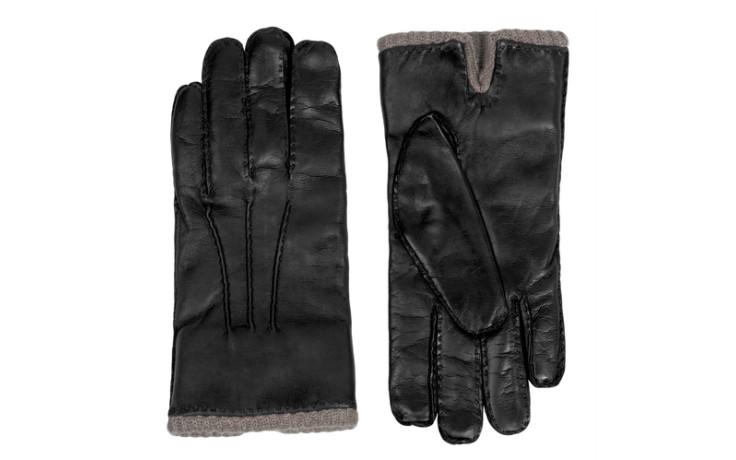 Maison Fabre H 419 DC black, Cashmere lining