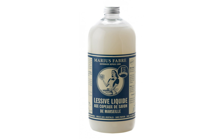 Marius Fabre Marseille soap flakes washing liquid 1 L