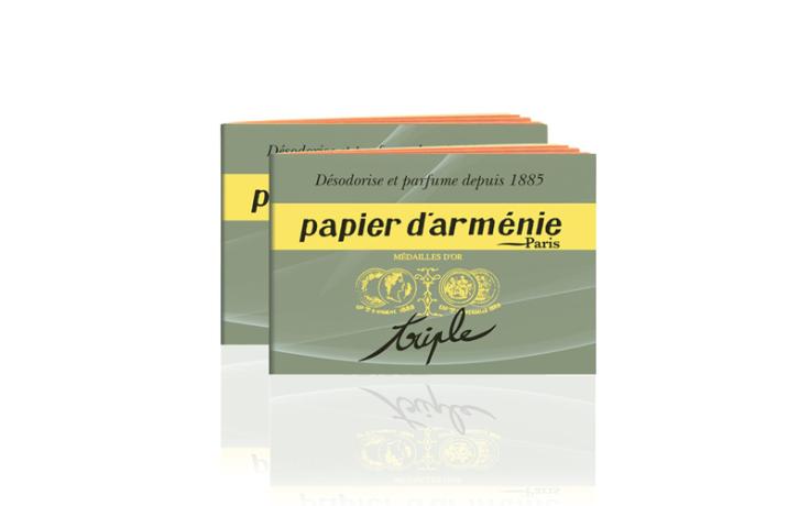 Papier d'Arménie booklet Triple