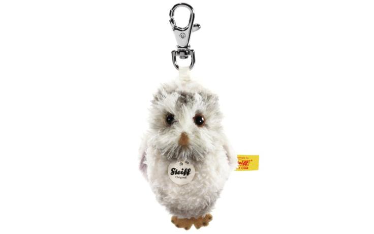 Steiff keyring owl 8 cm