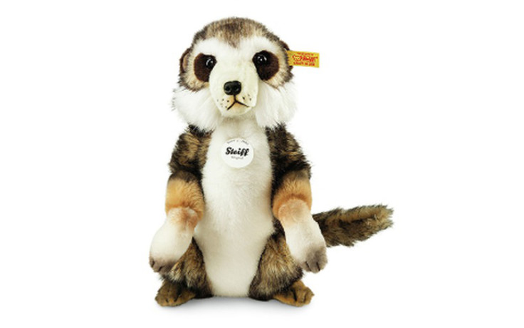 Steiff Sancho meerkat, brown tipped 29 cm