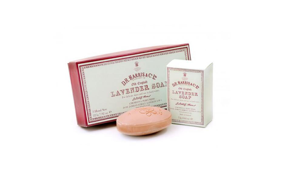 D.R. Harris Old English Lavender Bath Soap - Box of 3 x 150 gr