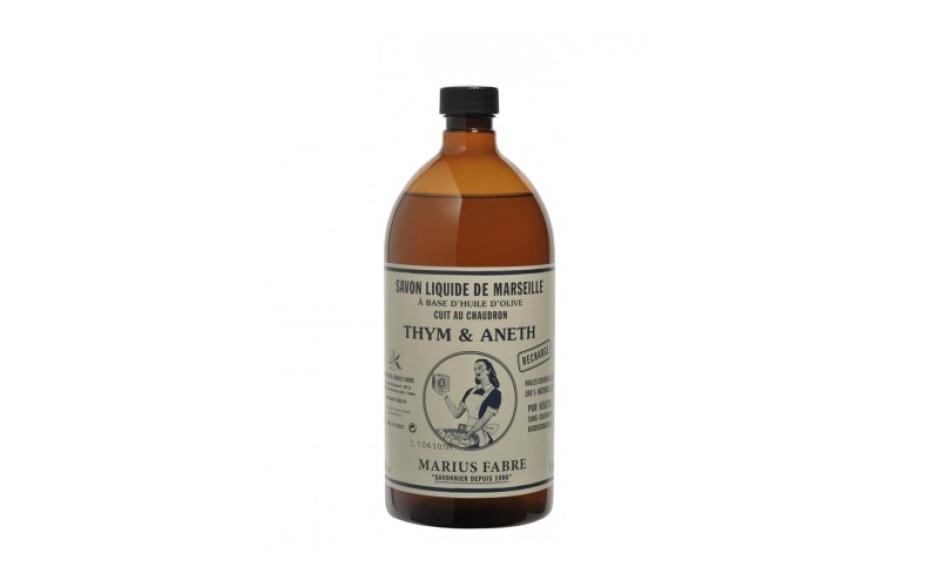 Marius Fabre Essential oil liquid Marseilles soap, thyme and dill fragrance 1 L