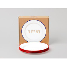 Falcon Plate set red