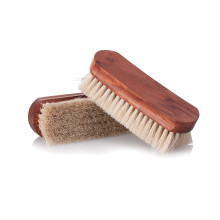 Famaco Polishing brush wood and natural horsehair 18 cm