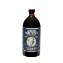 Marius Fabre Liquid olive oil black soap 1 L