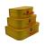 Kazeto cardboard suitcase kids yellow