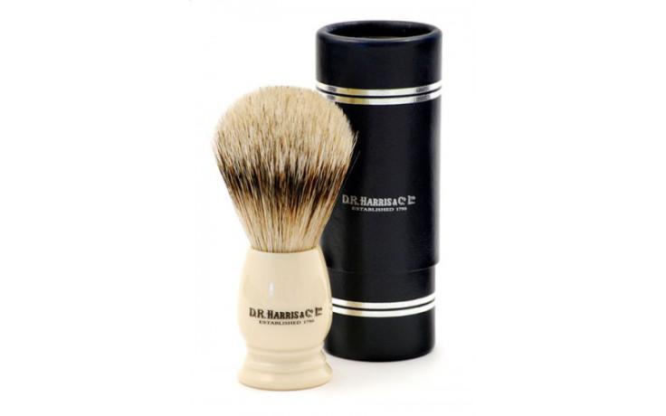 D.R. Harris Brosse de rasage Best Badger - S1 Ivoire