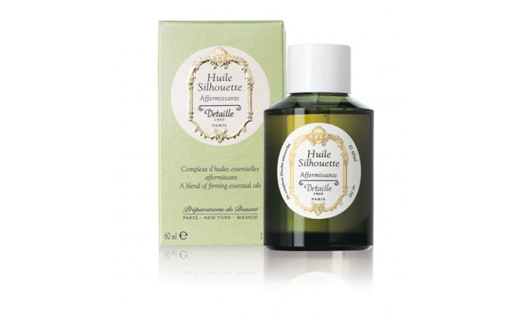 Detaille Huile Silhouette60 ml – Complexe d'huiles essentielles : Raffermissante