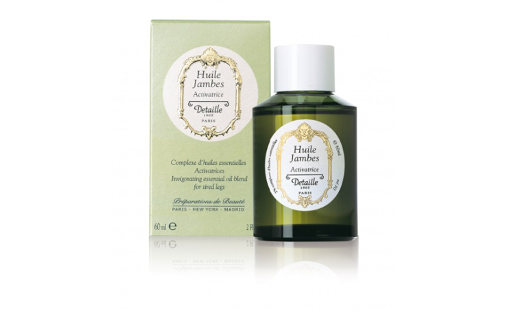 Detaille Huile Jambes 60 ml – Complexe d'huiles essentielles : Activatrice
