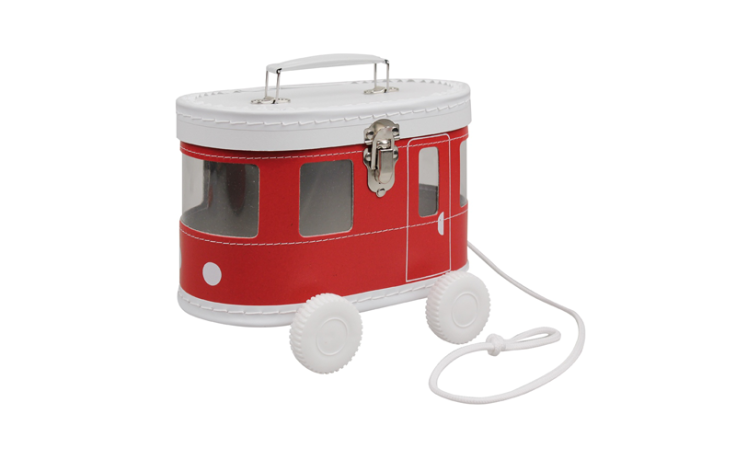 Kazeto tram rouge