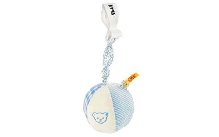 Steiff Ballon crécelle crépitant, bleu