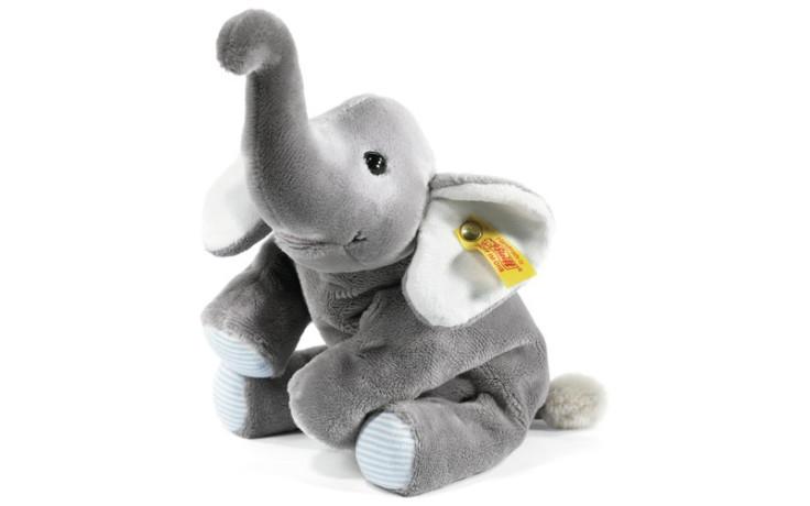 Steiff Trampili le petit éléphant souple 22 cm