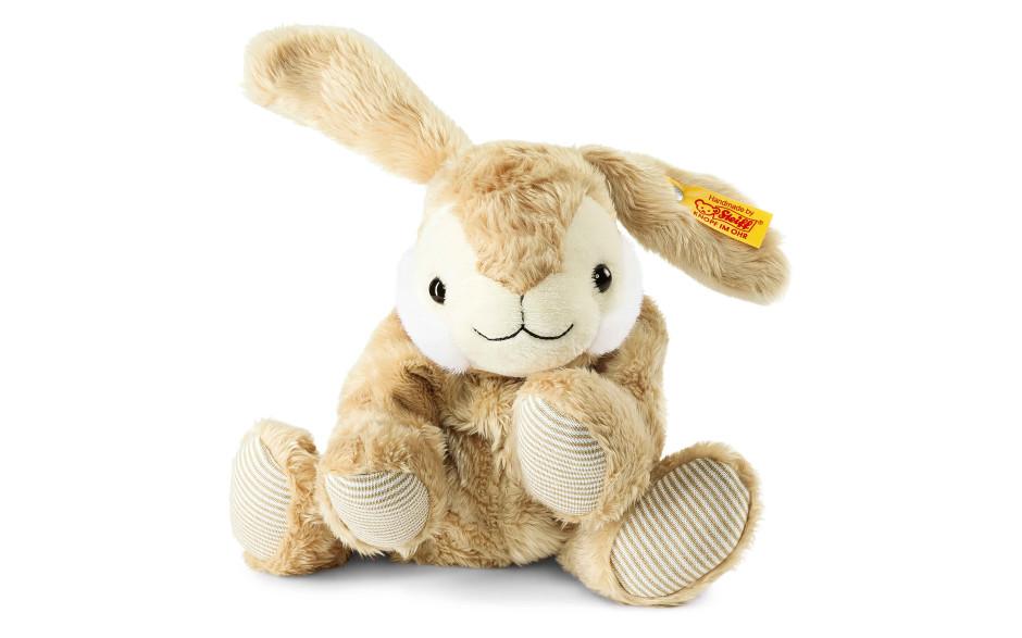 Steiff Coussin chauffant lapin Floppy Hoppel, 22 cm