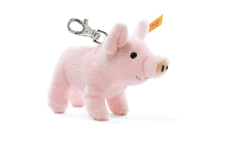 Steiff porte clé cochon 10 cm