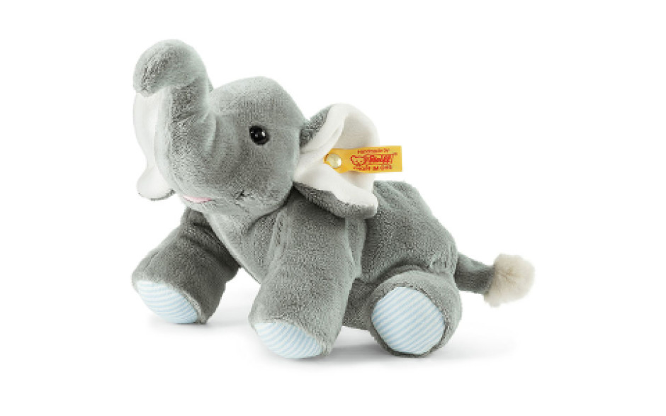 Steiff Coussin chauffant éléphant Floppy Trampi 22 cm