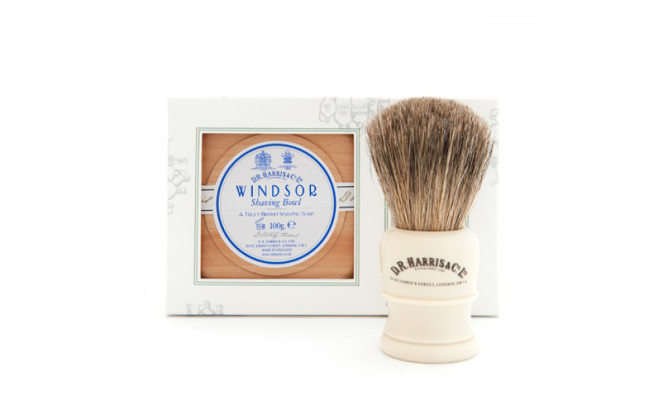 D.R. Harris Gift Set en bois de être 100 g - Windsor