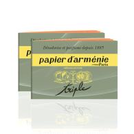 Livret Triple, Papier d'Arménie