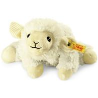 Steiff Coussin chauffant agneau Floppy Linda, crème 22 cm
