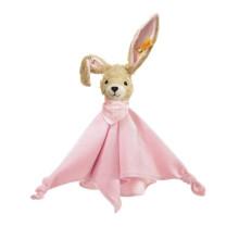 Steiff Hoppel le doudou lapin rose 28 cm