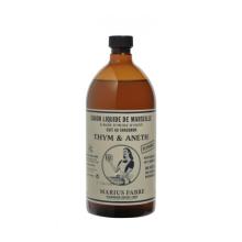 Marius Fabre Savon liquide de Marseille, Thym et Aneth 1 L
