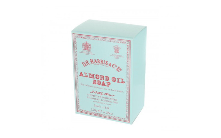 D.R. Harris Almond Oil bath soap - Single 150g