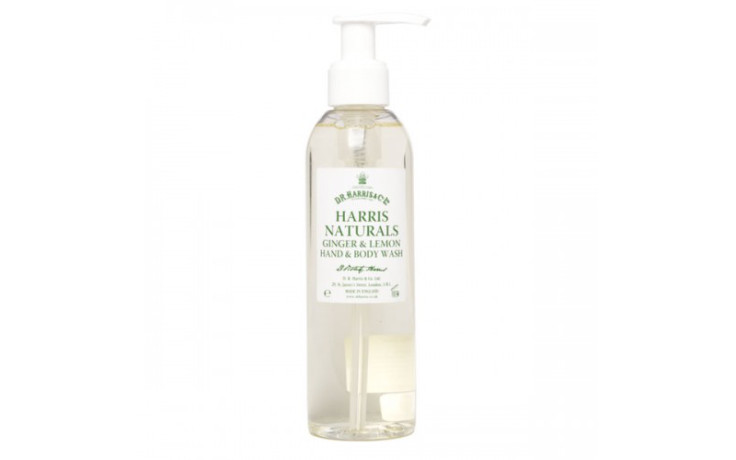 D.R. Harris Ginger & Lemon Hand & Body Wash 200 ml