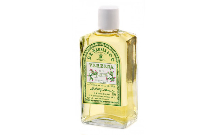D.R. Harris Soft Bath Oil - Verbena 100 ml